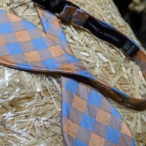 Tommy Hilfiger Adjustable Silk Bow Tie
